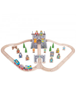 bigjigs bjt067 medieval train set