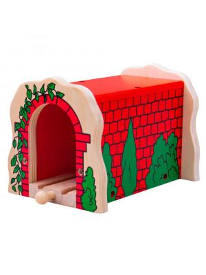 bigjigs bjt135 red brick tunnel