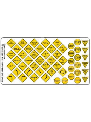 blair line 143 vintage highway signs