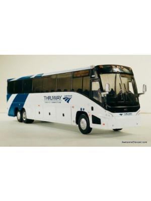 iconic replicas 0112 amtrak thruway connection bus