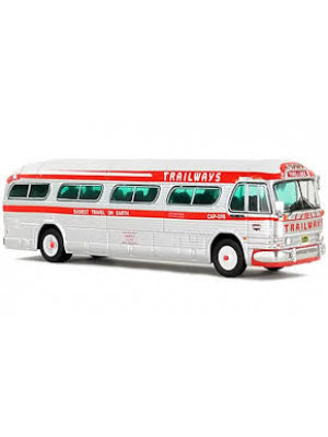 iconic replica 0148 trailways gm bus