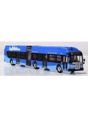 iconic replica 870159 santa monica articulated bus