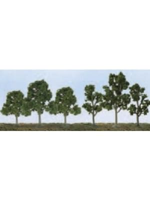 """jtt 92119 deciduous trees 2.5-4.5"""" 20pk"""