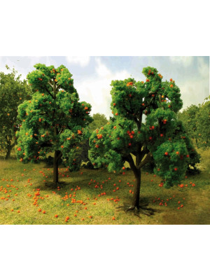 "jtt 92125 orange grove trees 5"" 2/pk"