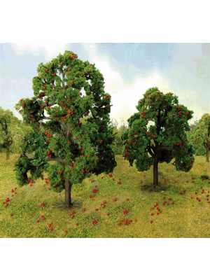 "jtt 92126 apple grove trees 5"" 2/pk"