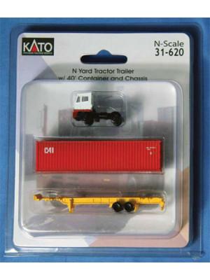 kato 31620 yard tractor trailer