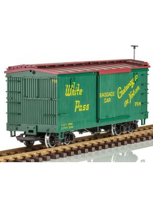 lgb 48675 white pass & yukon boxcar