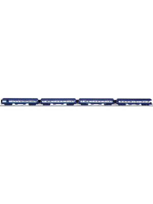 lionel 25655 blue comet hvywght psngr 4 pk