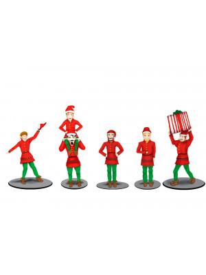 lionel 83186 polar express elves figures