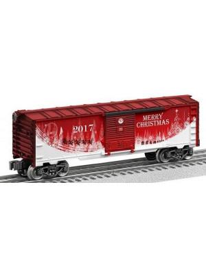 lionel 84375 2017 christmas boxcar