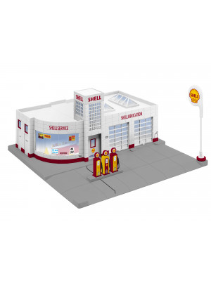 lionel 84496 shell gas station p-e-p