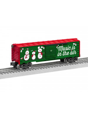 lionel 84748 2018 christmas music boxcar