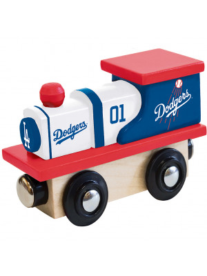 masterpieces 41711 los angeles dodgers wood train