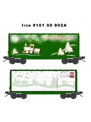 micro trains 10100802 2015 custom christmas car