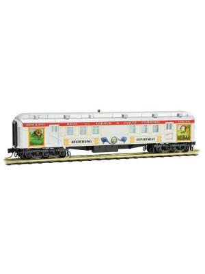 micro trains 14000210 rbbb circus ad car #4