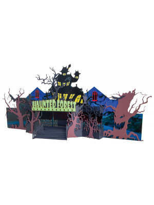 micro trains 49990501 halloween forest kit