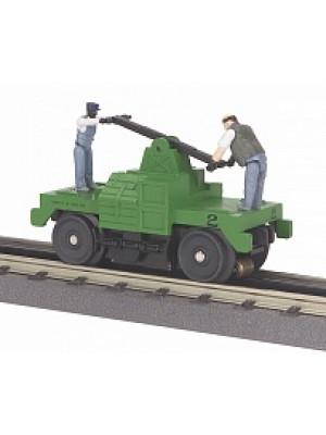 railking 2526 mow hand car green