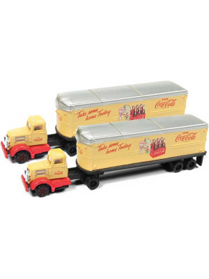 classic metal works 51177 coca cola tractr/trailer