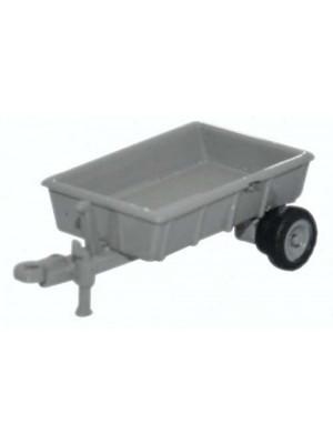 oxford nfarm002 farm trailer grey