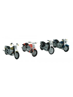 mth 30-11084 motorcycle 4pk