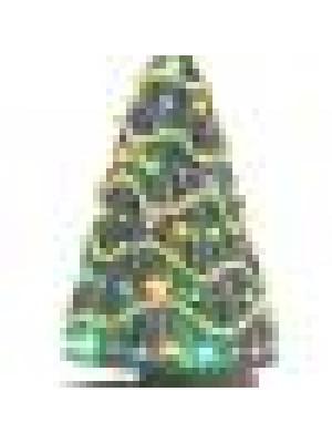 railking 11088 town square xmas tree w/lights