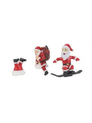 railking 11089 santa figure set 3pc