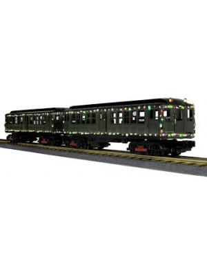 railking 205341 subway set with lights