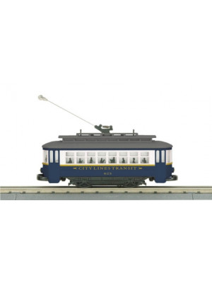 mth 30-5140 city lines trolley
