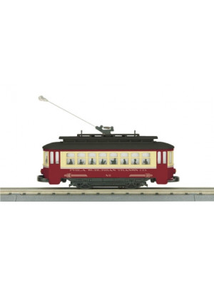mth 30-5143 philidelphia trolley