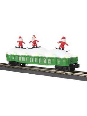 railking 72195 xmas gondola leds/santas grn