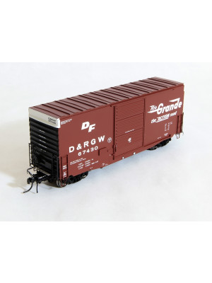 tangent scale models drgw mini-hy cube boxcar