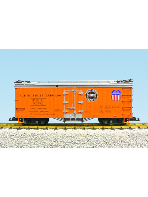 usa trains 16483 pfe reefer sp/up