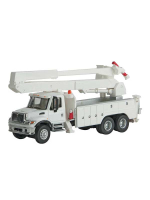 scenemaster 11754 utility truck w/ bucket white