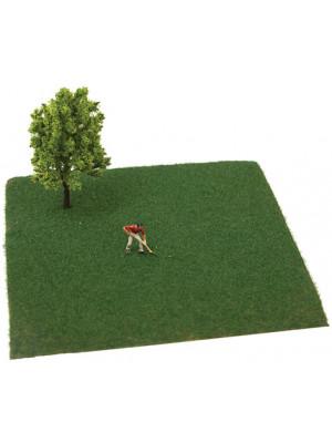 scenemaster 1205 dark green grass flock long
