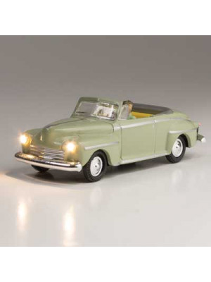 woodland scenics 5594 cool convertible w/lights