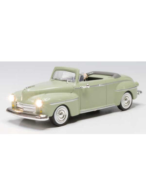 woodland scenics 5974 cool convertible w/lights