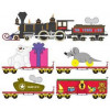 micro trains 99321220 christmas toy trunk line set