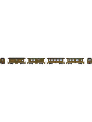 athearn 11031 nyc 34' old time pass set