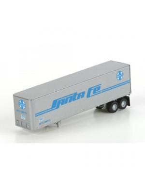 athearn 14207 santa fe 40' trailer 2 pk