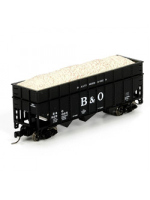 athearn 24461 b&o wood chip hopper