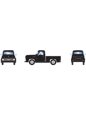athearn 26440 ford f-100 pickup black