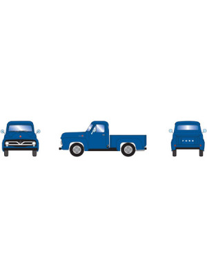 athearn 26443 ford f-100 pickup blue