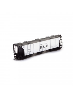 athearn 73498 n&w 3bay covered hopper