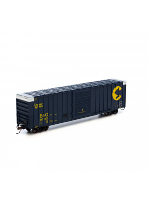 athearn 75014 chessie hy cube boxcar