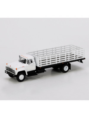 athearn 96823 white stakebed truck