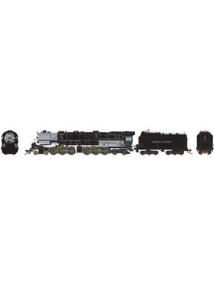 athearn g97243 up 4-6-6-4 dcc/snd coal #3837