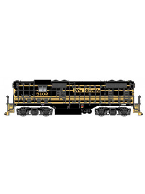 atlas 10002031 drgw gp7 #5102 dcc & sound