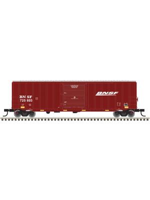 "atlas 20010412 bnsf 50'6"" boxcar"