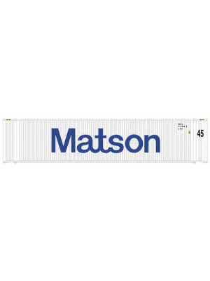 atlas 50003833 45' containers matson 3/pk