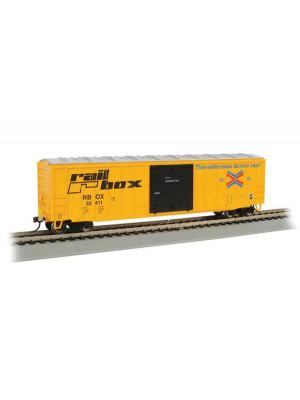 bachmann 14901 railbox boxcar w/eot